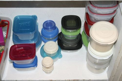 Storing the food storage containers Blog Peace of Mind Organizing