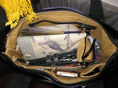 messy purse