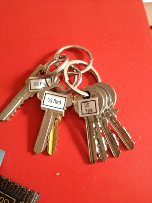 Decluttering My Keys Blog Peace Of Mind Organizing