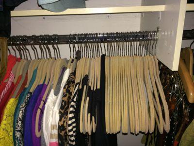 The rewards of a closet purge