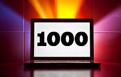 This is my 1000th blog post!