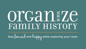 Organize Your Family History turns 3!