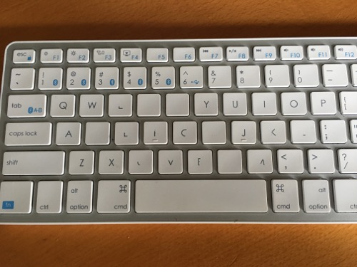 replacing worn off keyboard keys