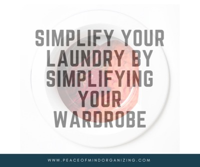 how to streamline your laundry