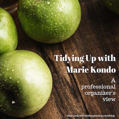 An organizer's review of Marie Kondo's Netflix series
